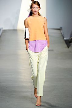 3.1 Phillip Lim: Color blocking. Yes.