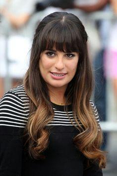 Rachel berry hair