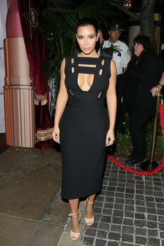 Kim Kardashian's best 2014 looks -Here she is at the Charlotte Tilbury beauty event in Los Angeles