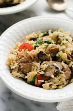One-Pot Sausage and Veggie Rice