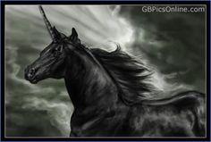 Dark Black Einhorn!✳