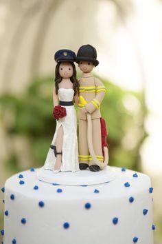 woman police officer cake topper | Firefighter & Police Officer ...