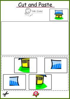 free preschool cutting worksheets Toddler Worksheets, Preschool Worksheets, Preschool Fine Motor Skills, Free Preschool, Cut And Paste, Letters, Letter, Lettering, Preschool Printables