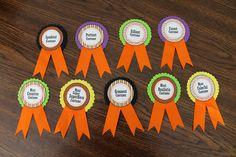 DIY Costume Contest award ribbons