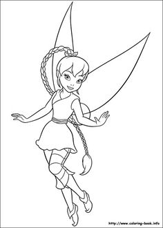 75 Tinkerbell Printable Coloring Pages For Kids Find On Book Thousands Of