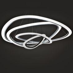Moderne led pendentif lumi¨res Cercle suspension luminaire salle