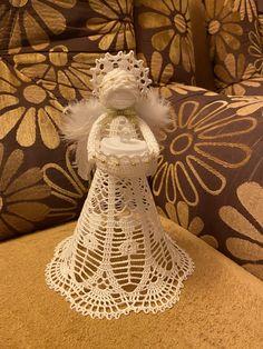 Crochet Angels, Anna, Barbie, Christmas, Tejidos, Angels, Yule, Xmas, Christmas Movies