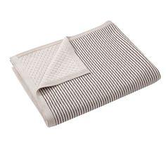 Polka Dot Reversible Blanket | Pottery Barn
