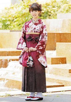 kimono and hakama #fashion