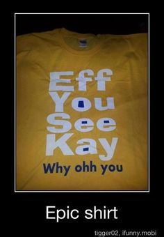 2013 way of sayin the f word politely