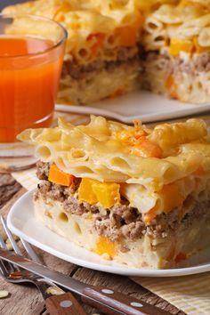 Penne à la viande... sauce crémeuse au fromage - Recettes - Recettes simples et géniales! - Ma Fourchette - Délicieuses recettes de cuisine, astuces culinaires et plus encore!
