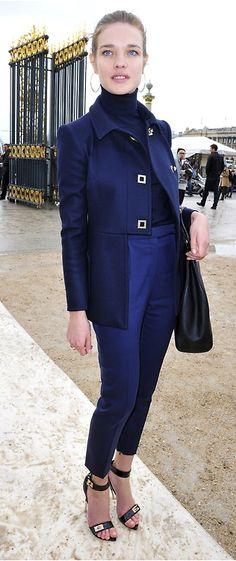 Chic Natalia Vodianova Street Style