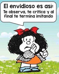Un admirador mas Quotes French, Spanish Quotes, Cartoon Wall, Cute Cartoon, Positive Messages, Positive Quotes, Words Quotes, Wise Words, Mafalda Quotes