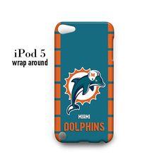 Miami Dolphins iPod Touch 5 Case Wrap Around
