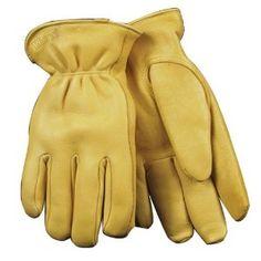 Women's Lined Deerskin - Large - Kinco Work Gloves (90HKW-L). Women's Lined Deerskin - Large
