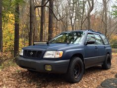 2001 SF Subaru Forester Offroad/Rally - Walkaround, Exhaust - YouTube
