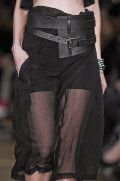 damsel in black  #dark #black fashion #gothic chic