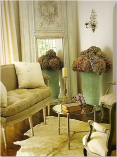 Country room design.