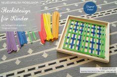 Flechtdesign-Vorlage für Kinder! Spielgabe 15 nach Froebel aus dem FRÖBELSHOP