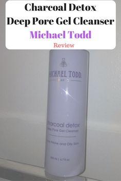 Michael Todd Charocal Detox deep pore gel cleanser