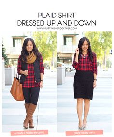 Outfits With a Red Plaid Shirt