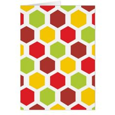 Colourful Hexagon Honeycomb Geometric Pattern Case For The iPad Mini - thanksgiving day family holiday decor design idea Thanksgiving Greeting Cards, Happy Thanksgiving, Family Holiday, Holiday Decor, Card Patterns, Honeycomb, Ipad Mini, Gift Tags, Personalized Gifts