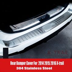 67.99$ Buy here - Car Accessories Stainless Steel Rear bumper Trunk Plate Guard Plate For Nissan X-trail X Trail Xtrail 2014 2015 2016 #SHOPPING