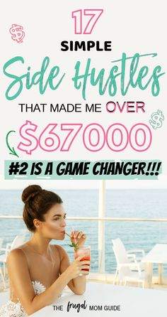 Side Hustle Ideas Discover 17 Side Hustle Ideas to Make Extra Money from Home in 2019 Real side hustle ideas that we use to make extra money. Many of these can be done online or from home. Side hustling helps you save money and make money. Ways To Save Money, Money Tips, Money Saving Tips, How To Make Money, Managing Money, Money Hacks, How To Get, Make Money From Home, Make Money Online