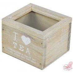 Mini scatola porta the in legno decape'