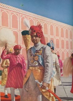 The Maharaja of Jaipur