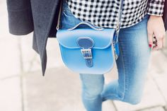 make your own small leather satchel by brit-stitch | notonthehighstreet.com