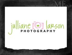 Premade Logo Design for Photography or Business Hand Drawn Custom Pre-made Logo, 2 Watermarks & Instructions (Julliane Larson). $16.00, via Etsy.