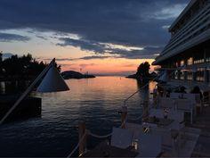 Sky's colors at Porto Carras Marina Greece, Colours, Sky, Sunset, Travel, Porto, Greece Country, Heaven, Sunsets