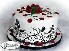 Stacey's Sweet Shop - Truly Custom Cakery, LLC: Happy Birthday Francesca!