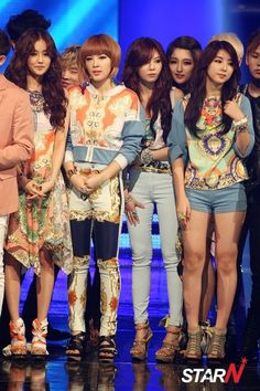 4minute at Mnet Mcountdown