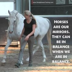 """Horses are our mirrors. They can be in balance when we are in balance."" #horsequote #stylemyride"