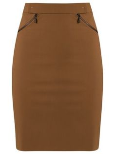 Gloria Coelho high-waisted skirt