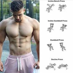 Build your pecs with the best bulking stack, ultimate bulking stack, how to gain muscle, how to get jacked fast Gym Workout Tips, Fun Workouts, At Home Workouts, Workout Equipment, Workout Fitness, Fitness Goals, Fitness Tips, Fitness Motivation, Chest Workouts
