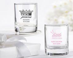 PERSONALIZED SHOT GLASS/VOTIVE HOLDER- LITTLE PRINCESS