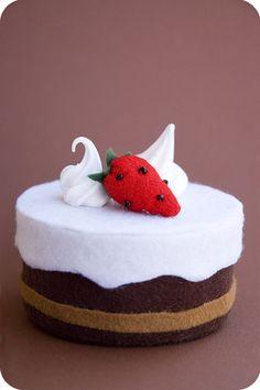 felt cake- easy version