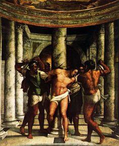 Sebastiano del Piombo.Flagelación de Xto - Buscar con Google