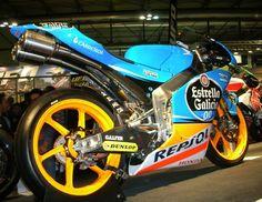 Alex Marquez's Moto3 Honda NSF250R at EICMA 2014, Milano, Italy - ph by #followgmo #honda #nsf250r #moto3 #alexmarquez #racing #EICMA #Milano #Italy