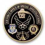 Air Force Investigations 2D Coin
