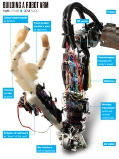 You Built What?!: A Remote-Controlled Robo-Arm   Popular Science