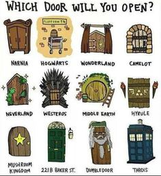 Hogwarts, Middle Earth, 211B Baker St and the TARDIS!!