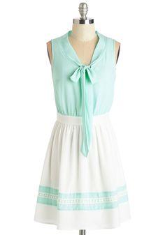 lovely dress for spring