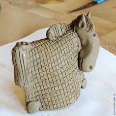 """МК    Сувенир """"Конь в пальто"""" - Ярмарка Мастеров - ручная работа, handmade"""