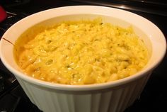 Famous Daves Macaroni and Cheese. Nice quick stir-in side dish using family size Stouffer's Mac & Cheese.