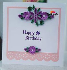 #handmadelovers #handmade #handycraft #quilling #quillingpaper #quillingcards #quillingflower #papercard #paperflowers #paperquilling #birthday #birthdaycards