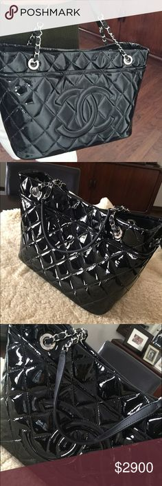 94e7819bf2a Spotted while shopping on Poshmark  New   Chanel Shopping Tote Handbag!   poshmark